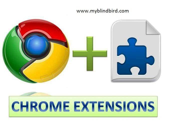 My Blind Bird. Best google chrome extensions