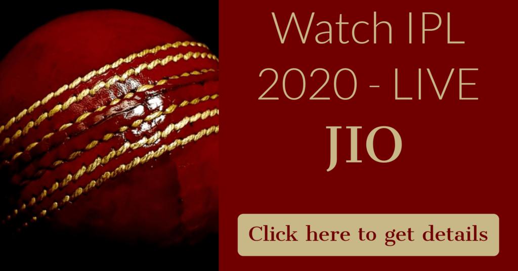 LIVE IPL 2020 LIVE